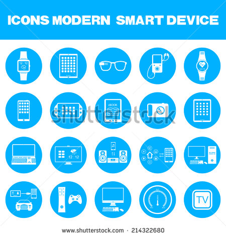 Smart Connected Devices Icon