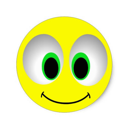 15 Smiley Emoticon With Big Eyes Images