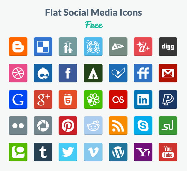 14 Download Free Icons Flat PNG Images