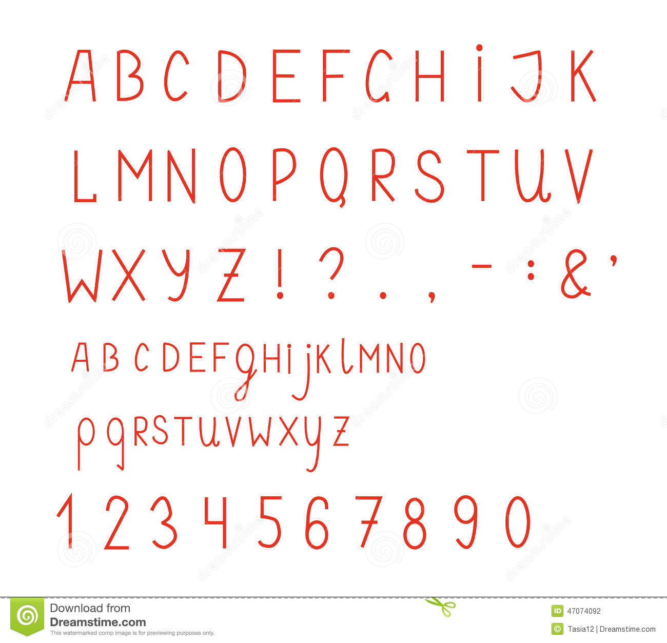 6 Money Font Number Alphabet Images