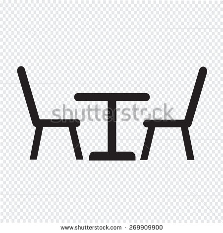 Table And Chairs Symbols Symbols Free Download