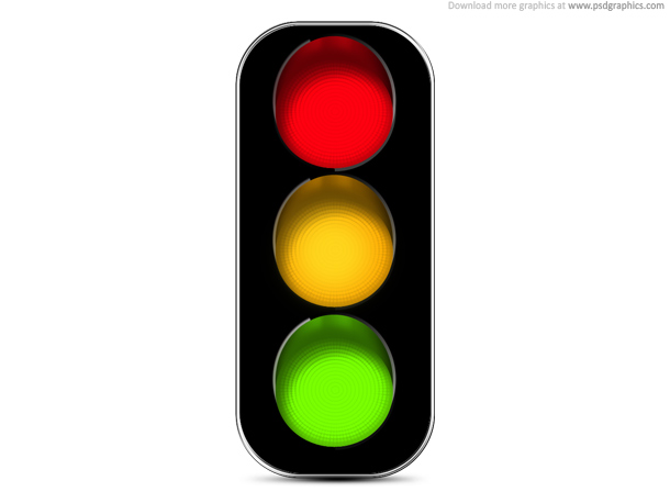 18 Traffic Light Icon PSD Images