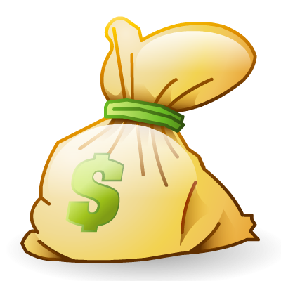 7 Money Bag Icon Images
