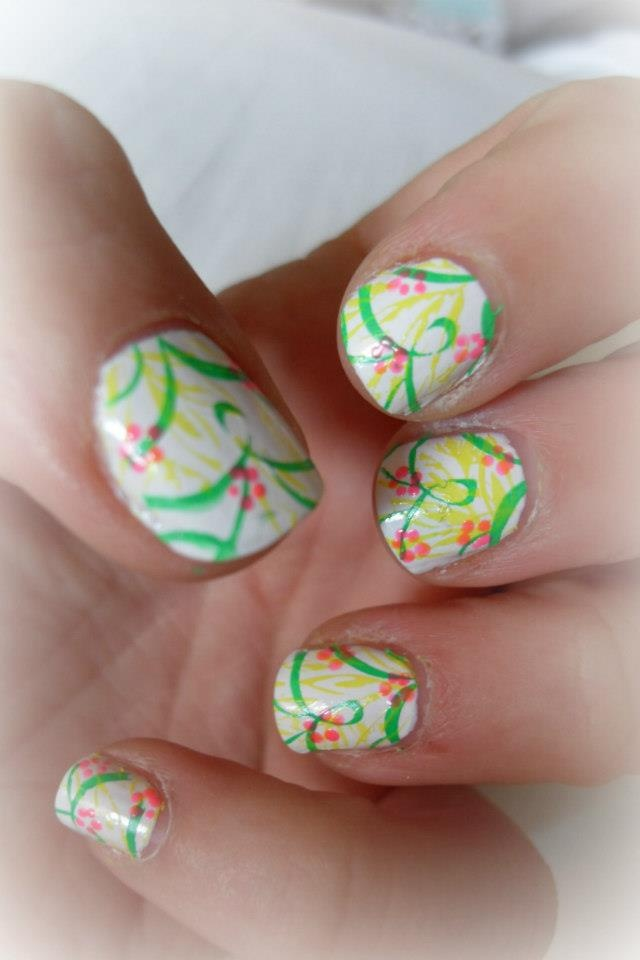 Tropical Nail Design