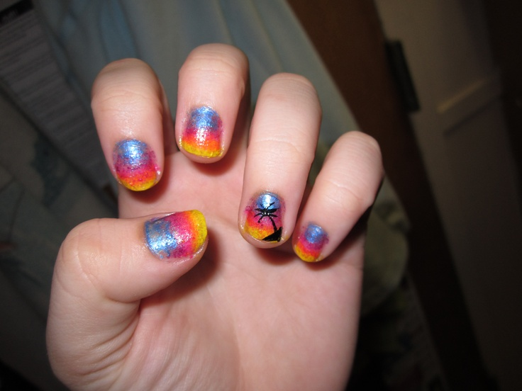 Tropical Nail Designs Pinterest