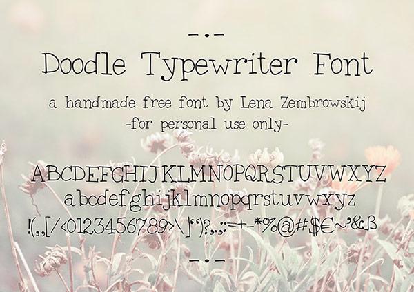 17 Type Writer Font Images - American Typewriter Font Free