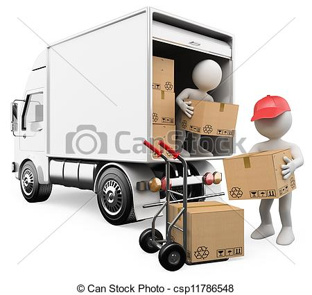 14 Unload Truck Boxes Icon Images