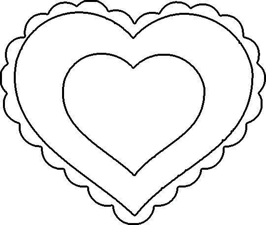 11 Valentine Heart Template Images  Free Printable Valentine