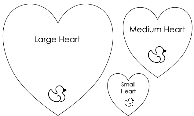 11 Valentine Heart Template Images