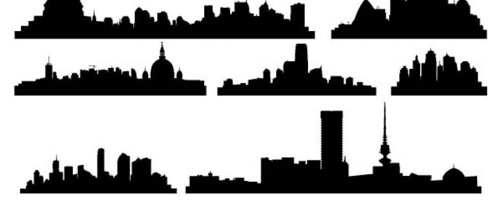 18 Gotham City Vector Images