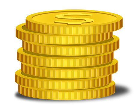 14 Free Vector Gold Coins Images