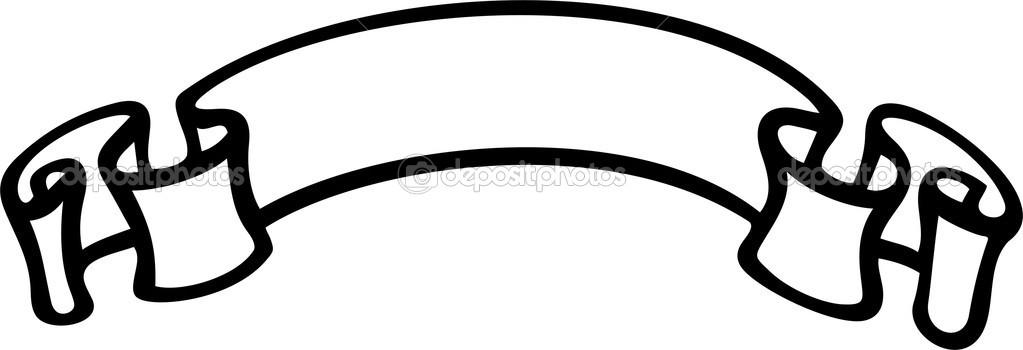 Vector Ribbon Banner Template