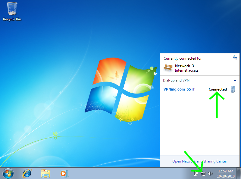 Windows 7 Network Connection Icon