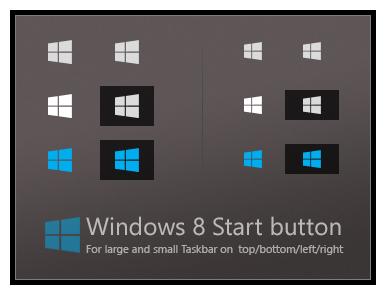 Windows 8 Start Button BMP