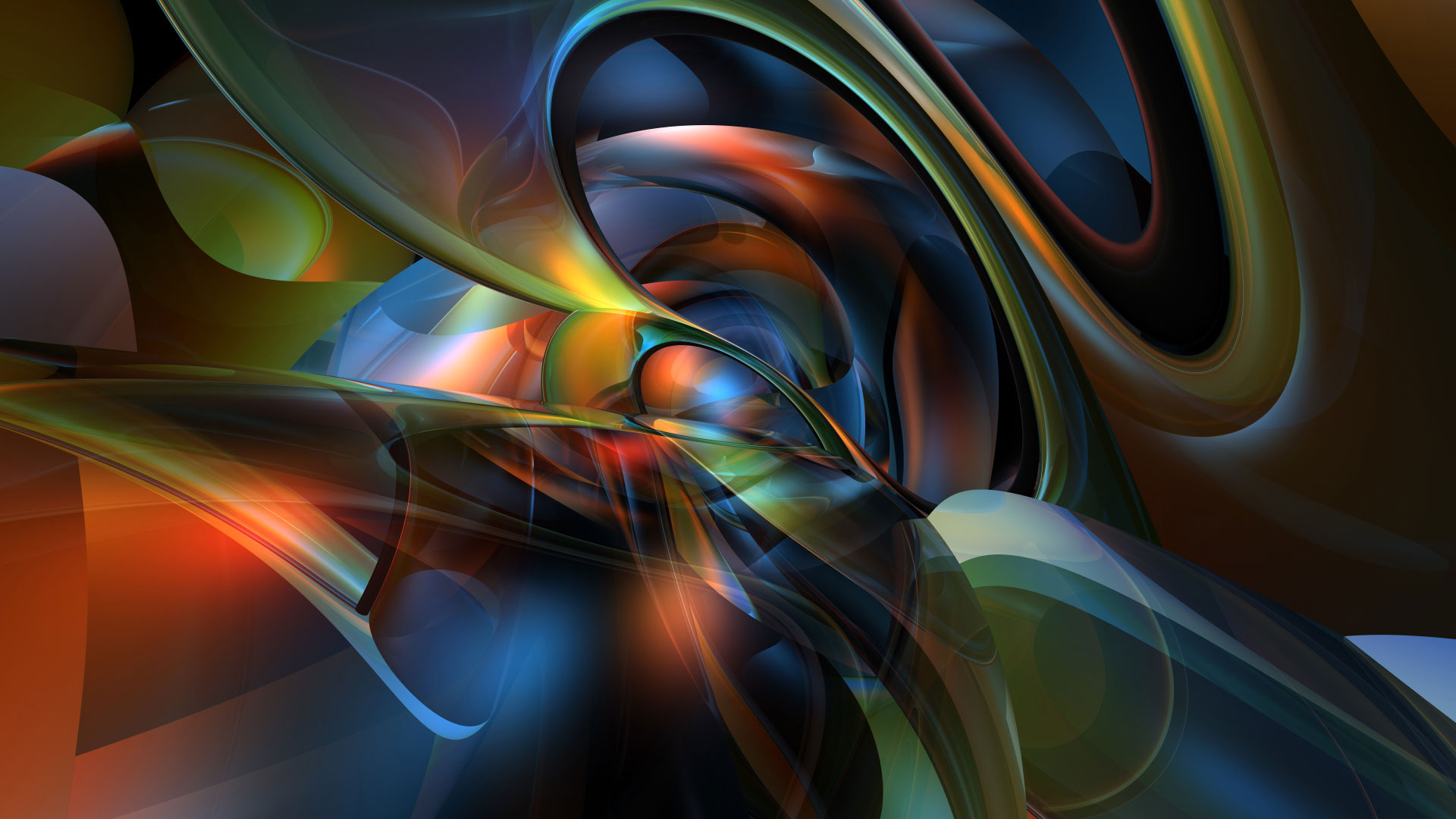 20 3D Abstract Backgrounds Design Images