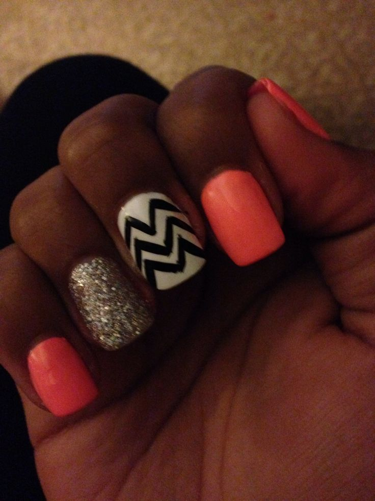 Acrylic Nail Designs Pinterest
