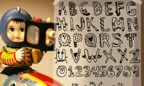 And Cartoon Comic Fonts