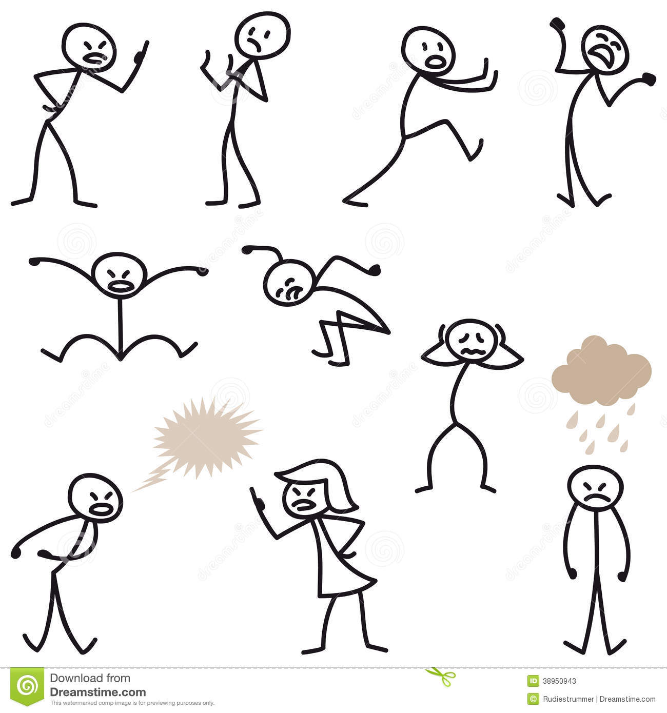 7 Stick Figure Vector Images