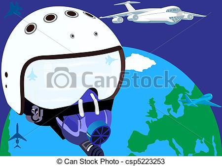 Aviation Oxygen Mask Clip Art