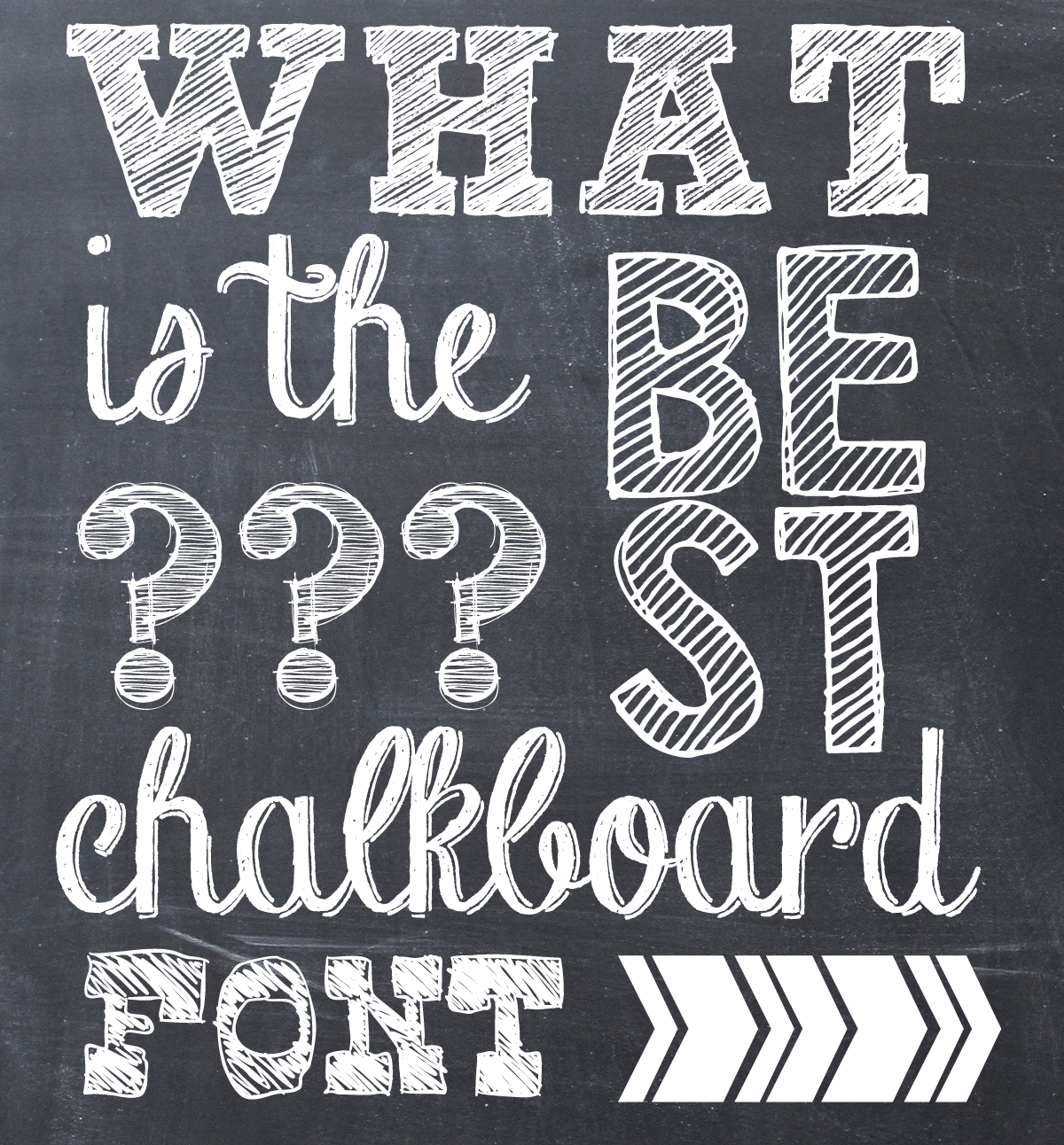 13 Best Free Chalk Fonts Images
