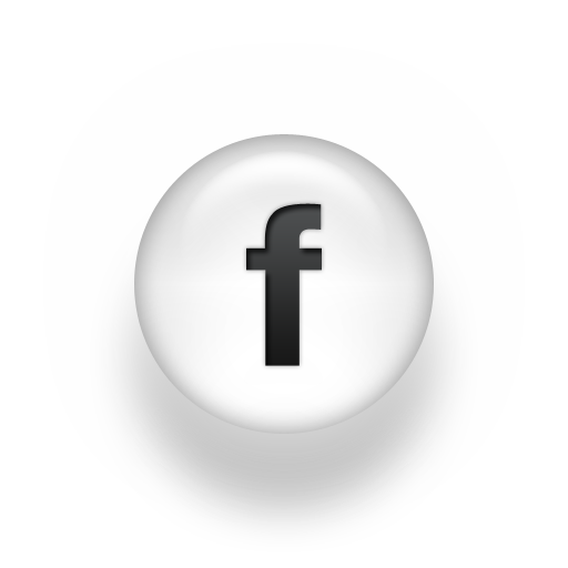 Black and White Facebook Logo Icon