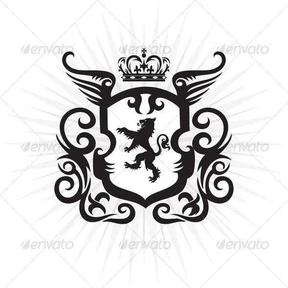 8 Decorative Vector Crest Images