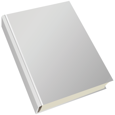 Blank Book Cover Design