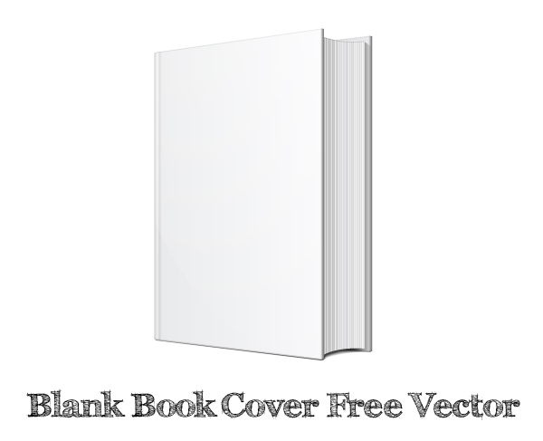 Blank Book Cover Graphic