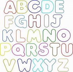Bubble Letters Alphabet Font