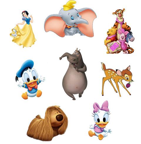 Cartoon Heroes Characters
