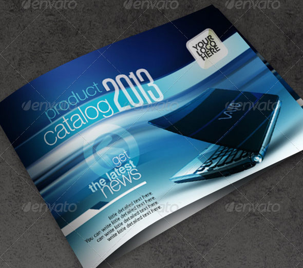 13 PSD Catalog Design Images