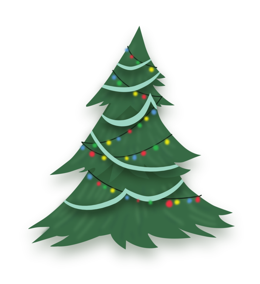Christmas Tree Vectors Free