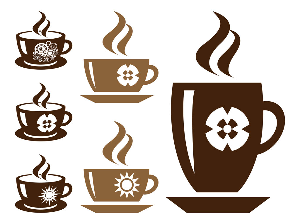 Coffee Cup Silhouette Clip Art