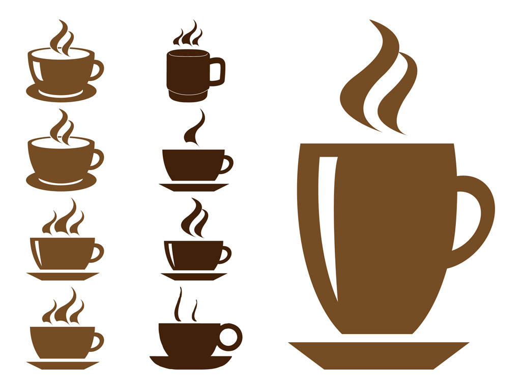 14 Coffee Steam Vector Images
