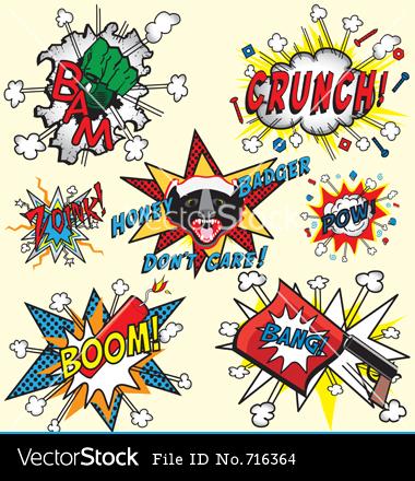 Comic Book Pow Font
