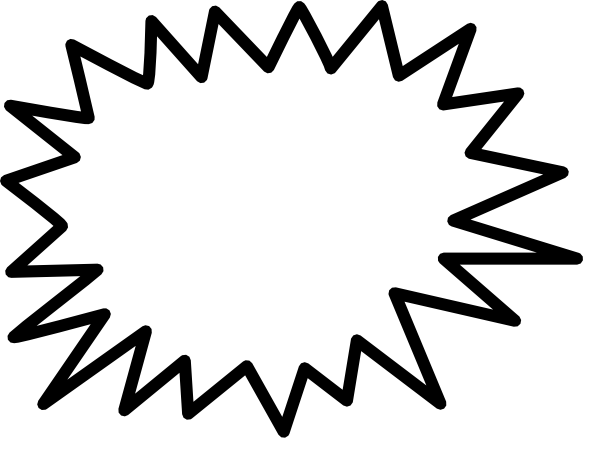Comic Explosion Clip Art