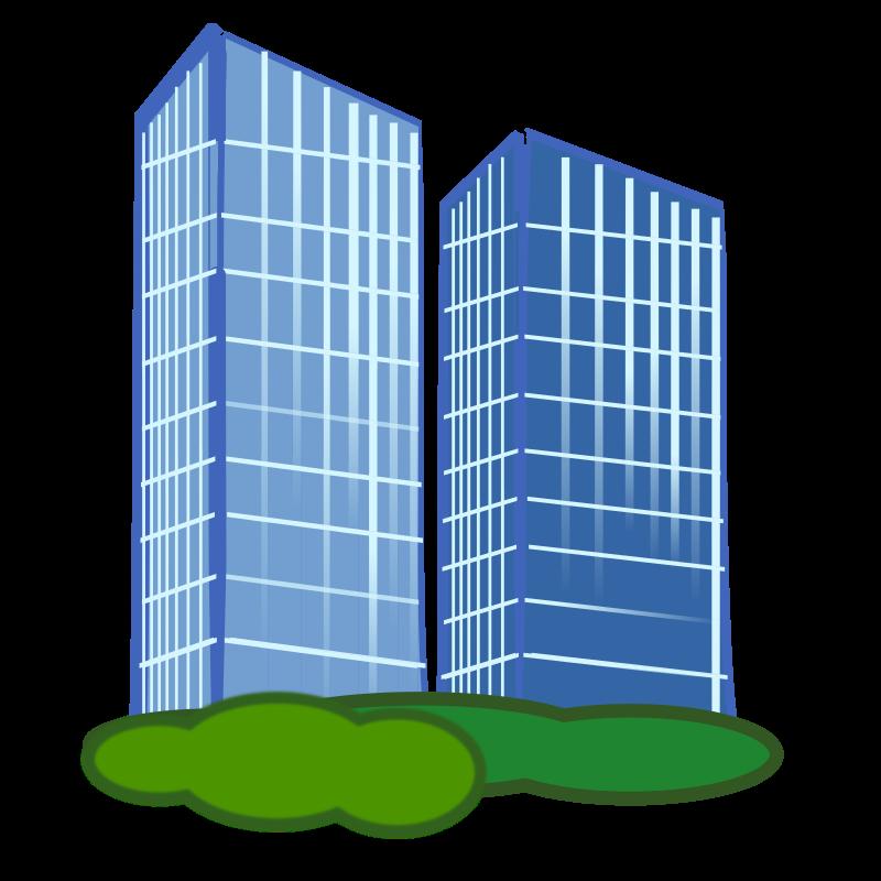 Commercial Office Building Clip Art