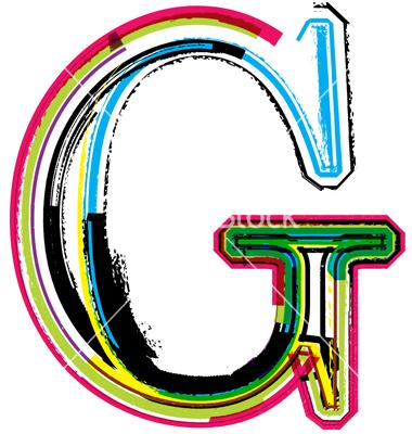 14 Letter G Fonts Images Font Letter G Design Letter G