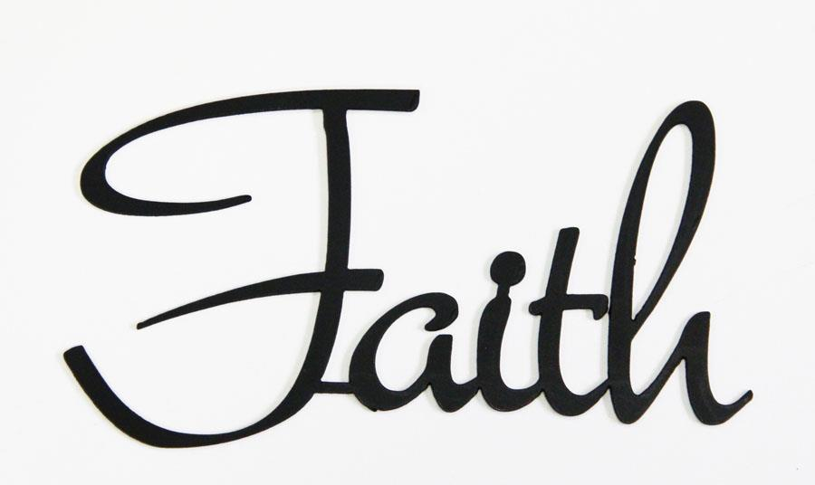 Cursive Word Faith