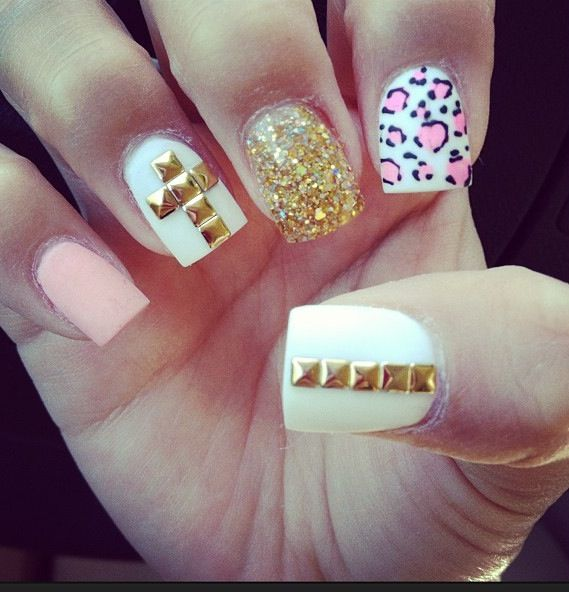 Cute Acrylic Nails Pinterest