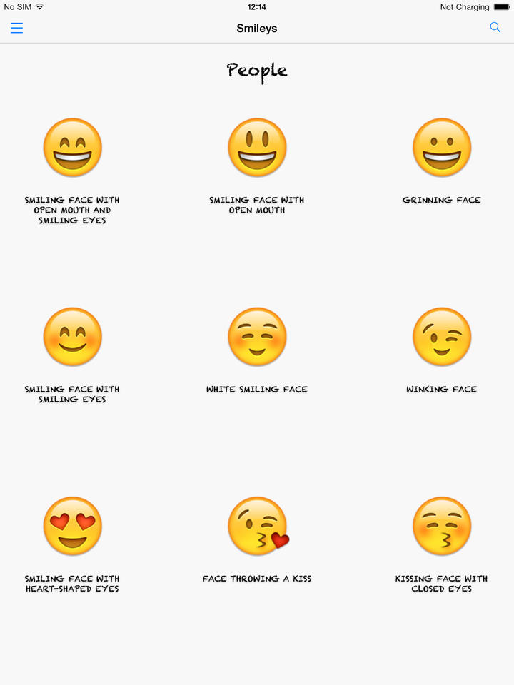 All clear, Facebook emoticons list meanings share your
