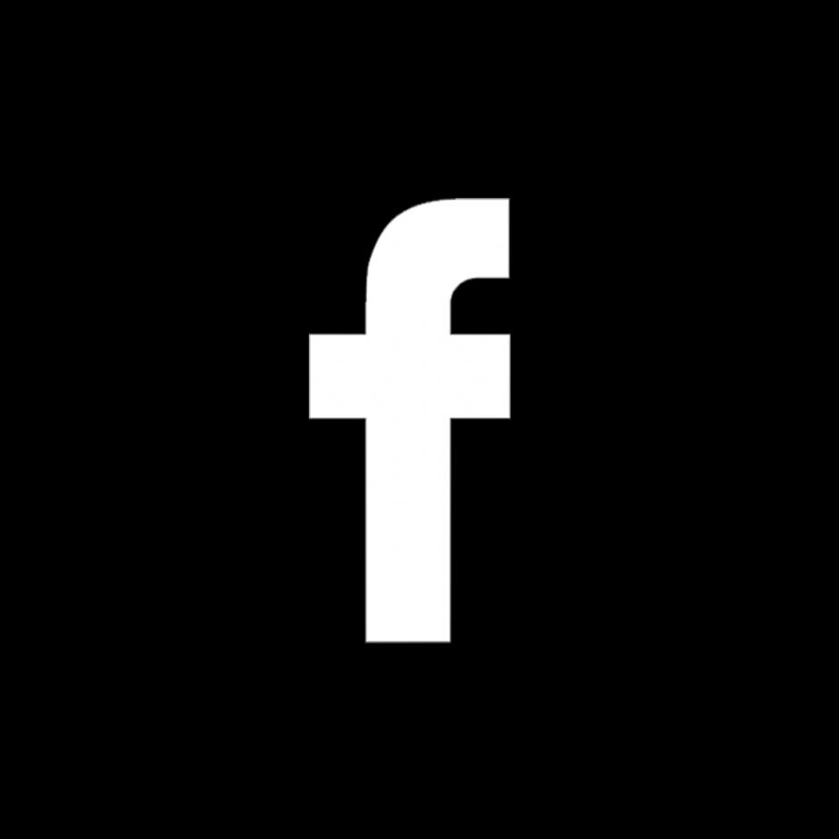 Facebook Icon Black Circle