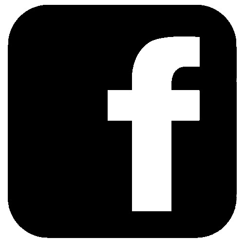 facebook logo black and white pictures to pin on pinterest