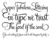 Faith Cursive Tattoo Fonts