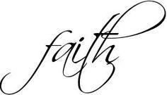 13 Faith In Cursive Font Images