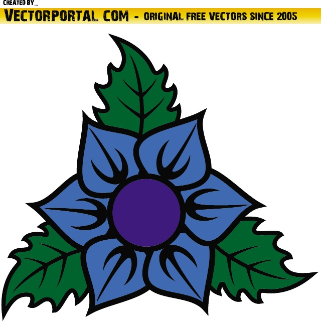 Flower Vector Clip Art