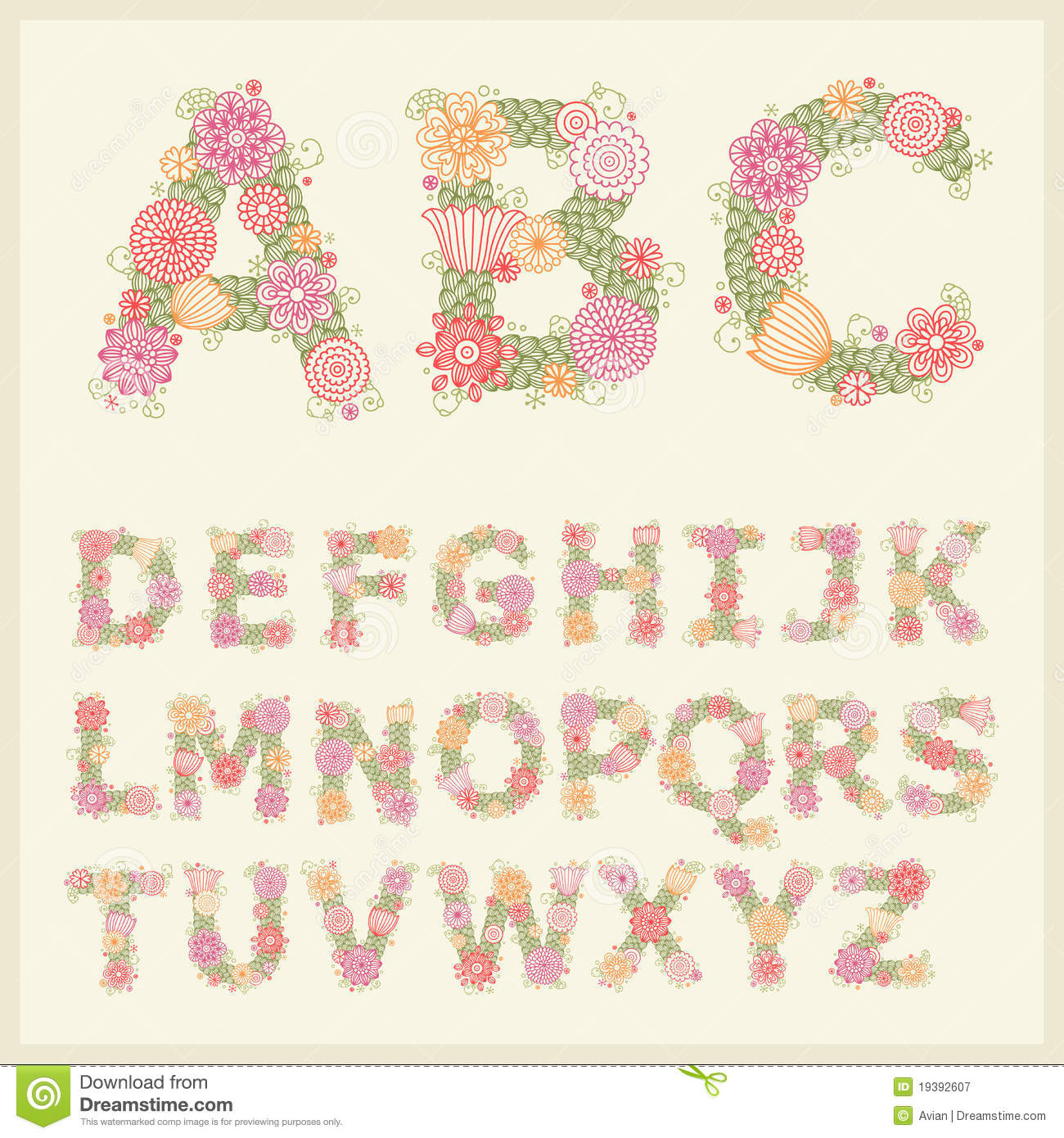 Free Flower Font Photo - Flowers Healthy