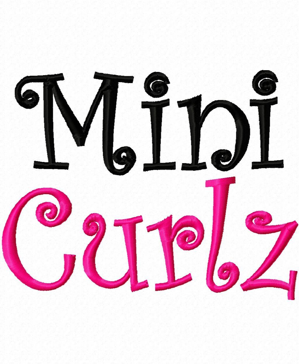 17 Free Curlz Embroidery Monogram Fonts Images Free Curlz