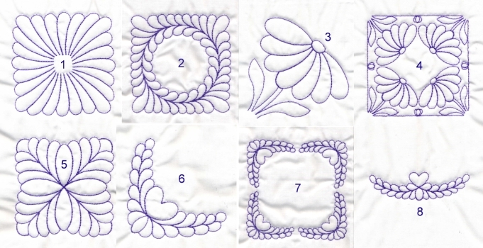 machine embroidery quilting designs free