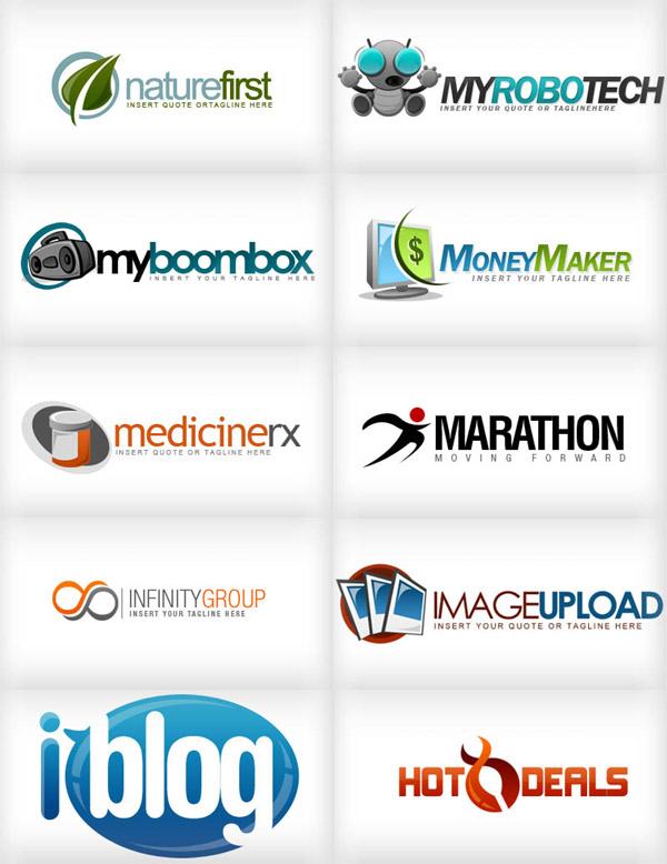 18 best logo design templates free images vector logo templates